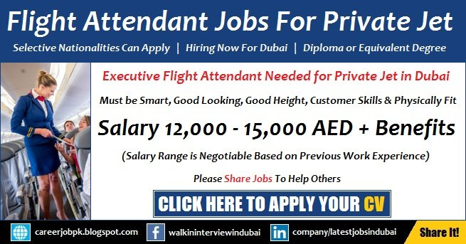 Cabin Crew Jobs in Dubai
