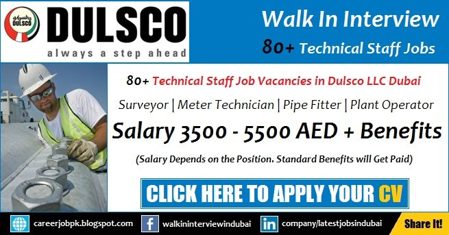 Dulsco Careers and Jobs