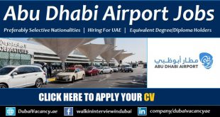 Abu Dhabi Airport Jobs