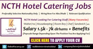 Abu Dhabi Hotel Jobs