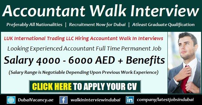 Accountant Jobs in Dubai 2018