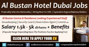 Al Bustan Centre and Residence Careers