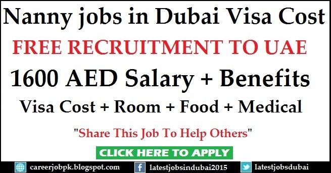 Nanny Jobs In Dubai Today