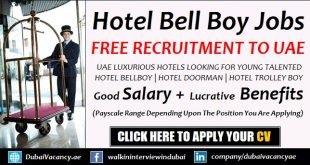 Bell Boy Jobs in Dubai