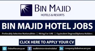 Bin Majid Hotels Careers