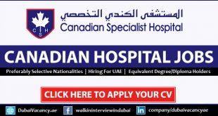 Canadian Hospital Dubai Careers