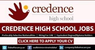 Credence High School Careers