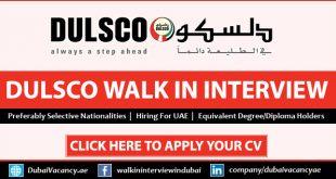 DULSCO Jobs