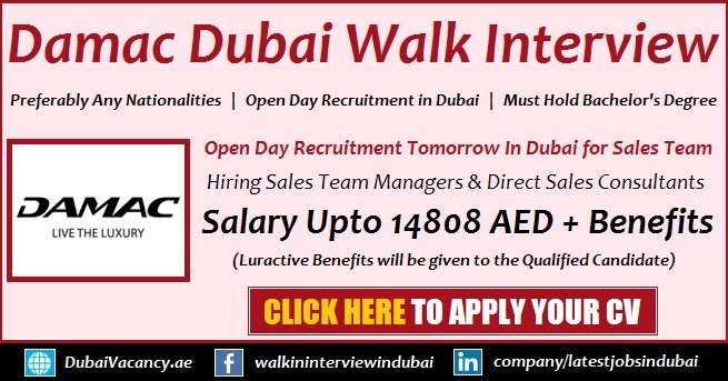 Damac Properties Jobs