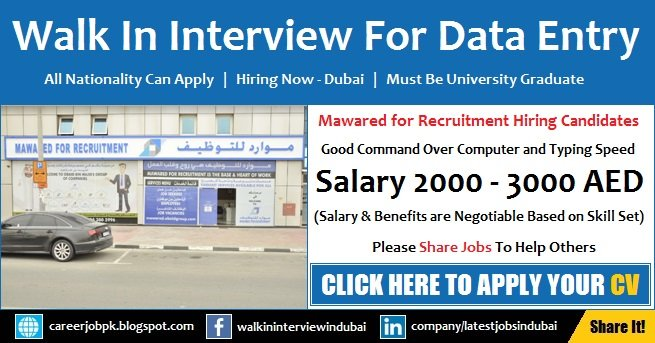 Data Entry Jobs 2018
