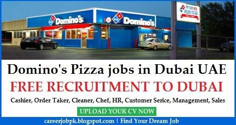Dominos Pizza Jobs in Dubai