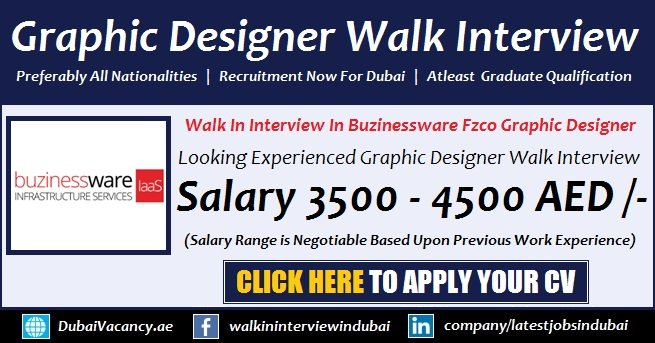 Dubai Graphic Designer Jobs 2018