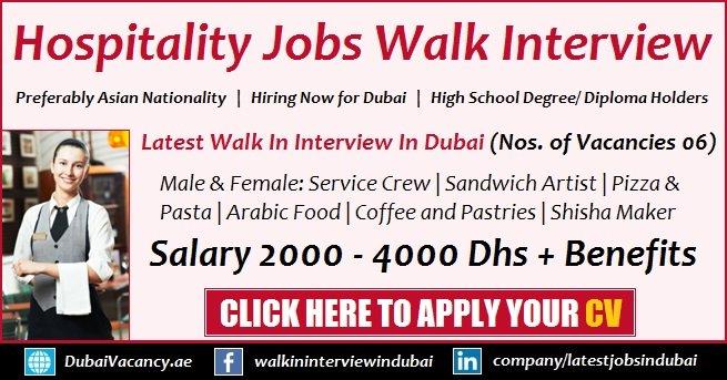 Dubai Hospitality Jobs