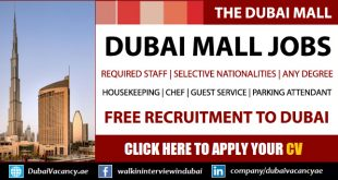 Dubai Mall Jobs