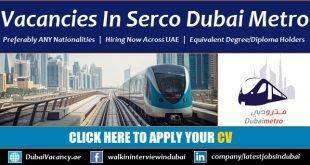 Dubai Metro Jobs