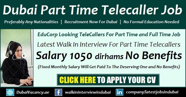 Part Time Telecaller Jobs