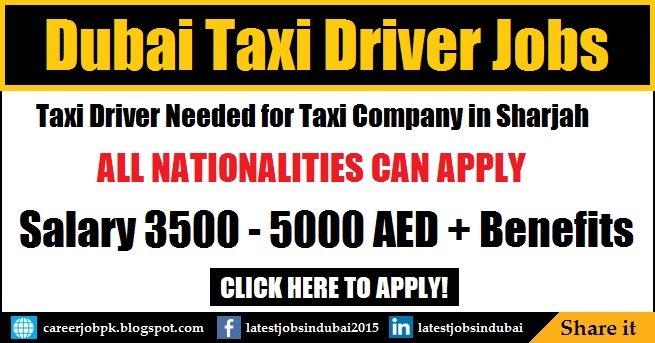 Citi Taxi Sharjah Taxi Driver Jobs