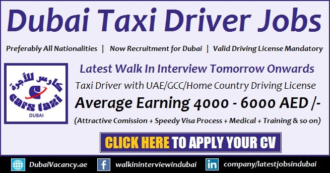 Dubai Taxi Driver Training