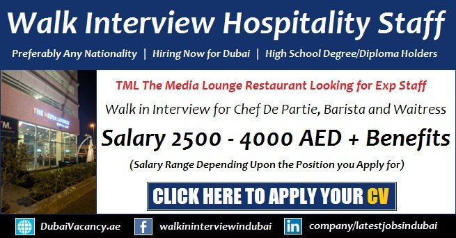 Dubai Walk in Interview