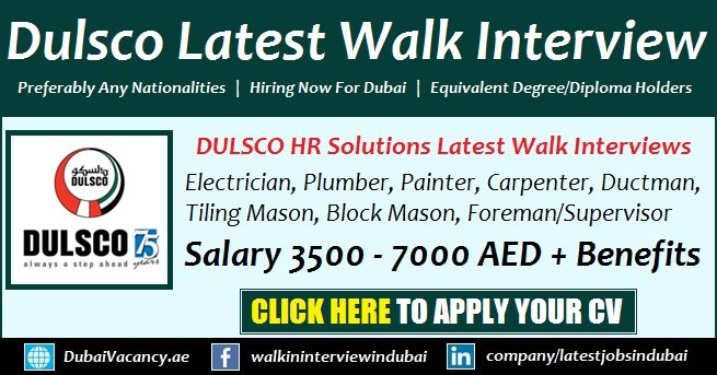 Dulsco Recruitment Open Day