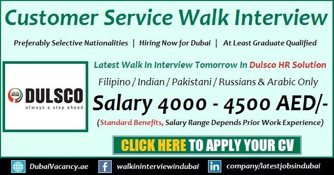 Dulsco Customer Service Jobs