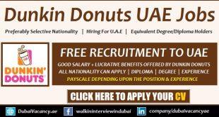Dunkin Donuts Careers