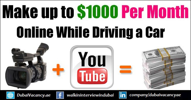 How To Earn Money Online While Driving a Car in Dubai