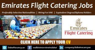 Emirates Flight Catering Careers