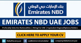 Emirates NBD Careers