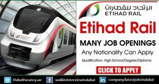 Etihad Rail Careers