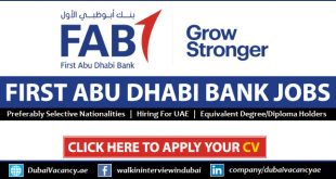 FAB Bank Careers