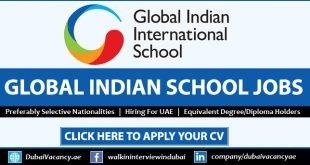Global Indian International School Careers