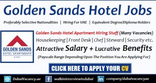 Golden Sands Hotel Apartments Careers