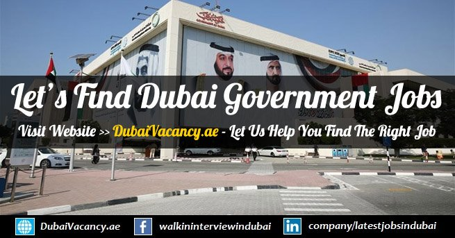 Government Jobs in Dubai