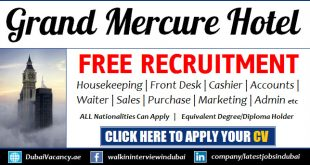 Grand Mercure Hotel Dubai Careers