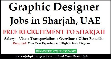 Graphic Designer Dubai Visa Provided Jobs
