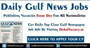 Gulf News Jobs