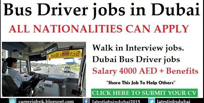 Heavy Bus Driver Jobs in Khalid Al Rostamani Transport Dubai