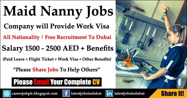 Housemaid Nanny Work Visa Provided Jobs