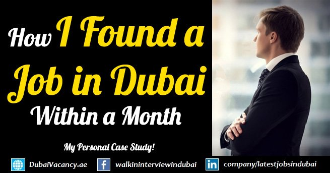 How I Found a Job in Dubai Within a Month