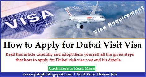 How To Apply For Dubai Visit Visa