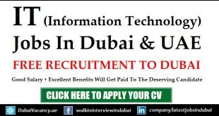 IT Jobs in Dubai