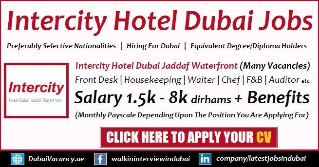 Intercity Hotel Careers