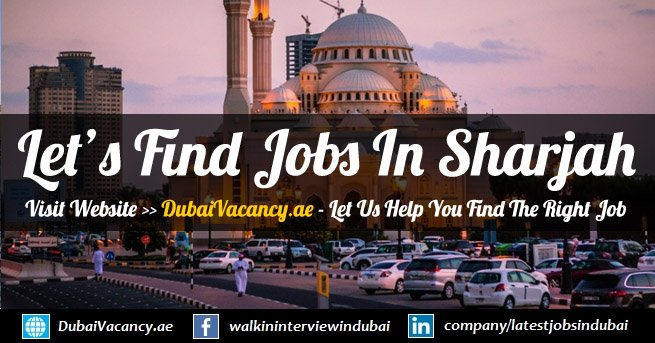 Jobs in Sharjah