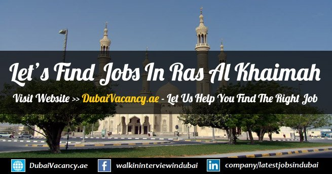 Jobs in Ras Al Khaimah