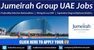 Jumeirah Group Careers