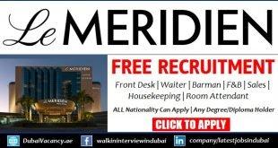 Le Meridien Dubai Careers
