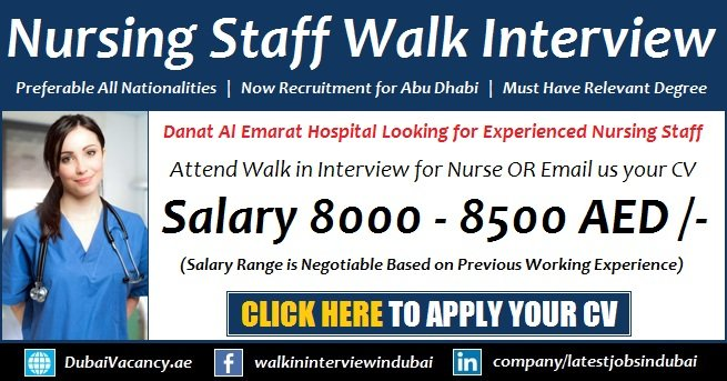 Nursing Jobs in Abu Dhabi