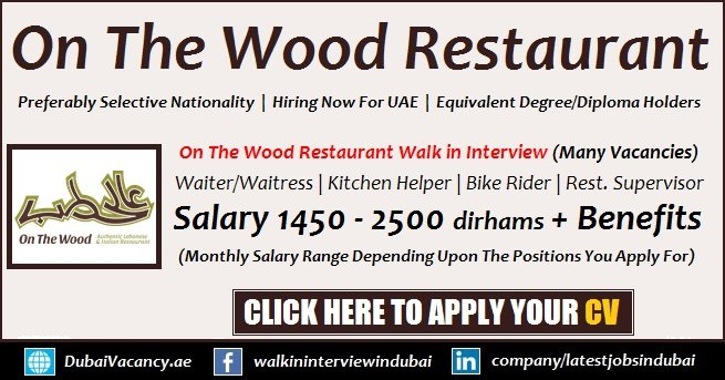 On The Wood Restaurant Walk in Interview