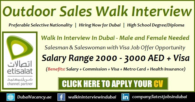 Sales Jobs in Dubai